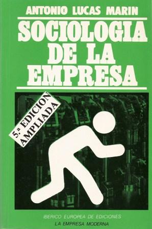SOCIOLOGIA DE LA EMPRESA